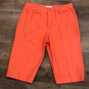 Christopher & Banks Cropped Capri Pants Size 14
